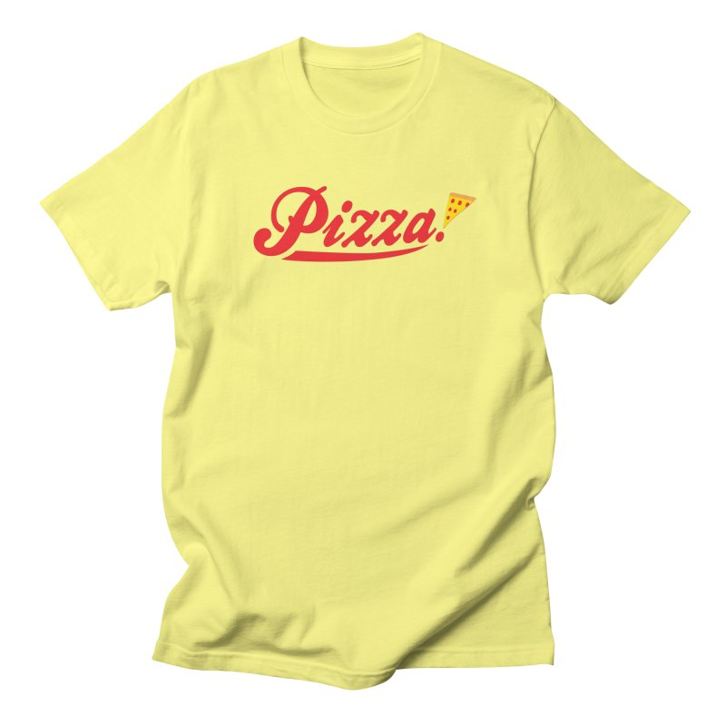 Pizza Men's T-Shirt by DavidBS