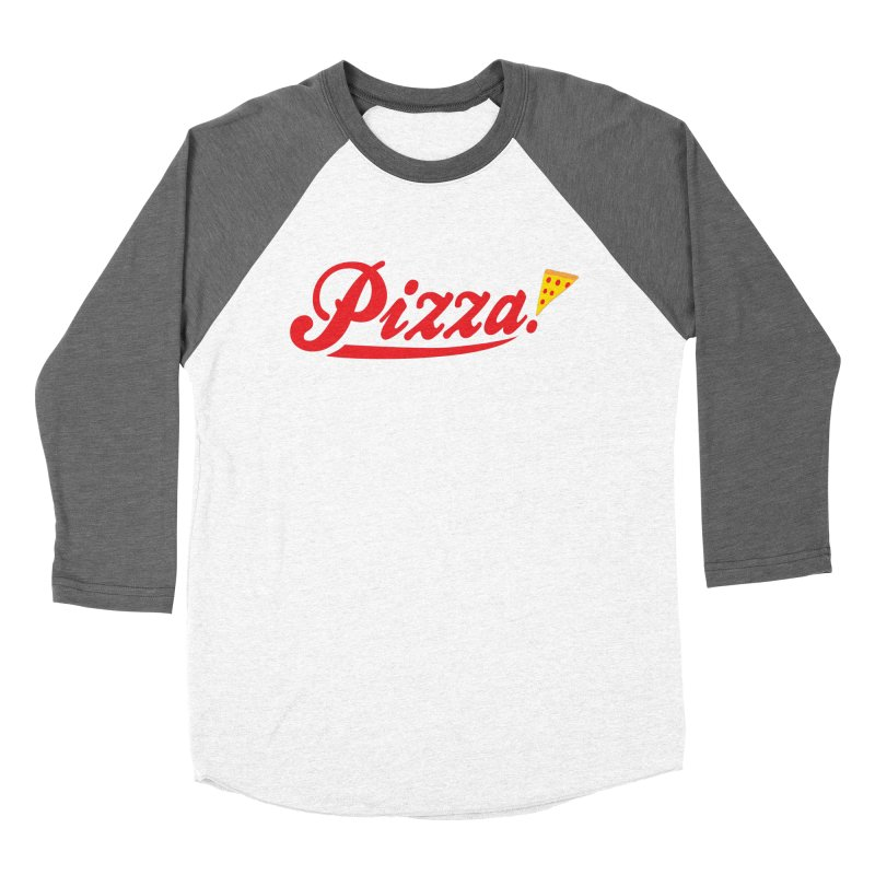 Pizza Women's Longsleeve T-Shirt by DavidBS