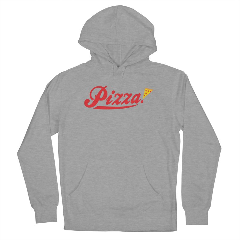 Pizza Men's French Terry Pullover Hoody by DavidBS