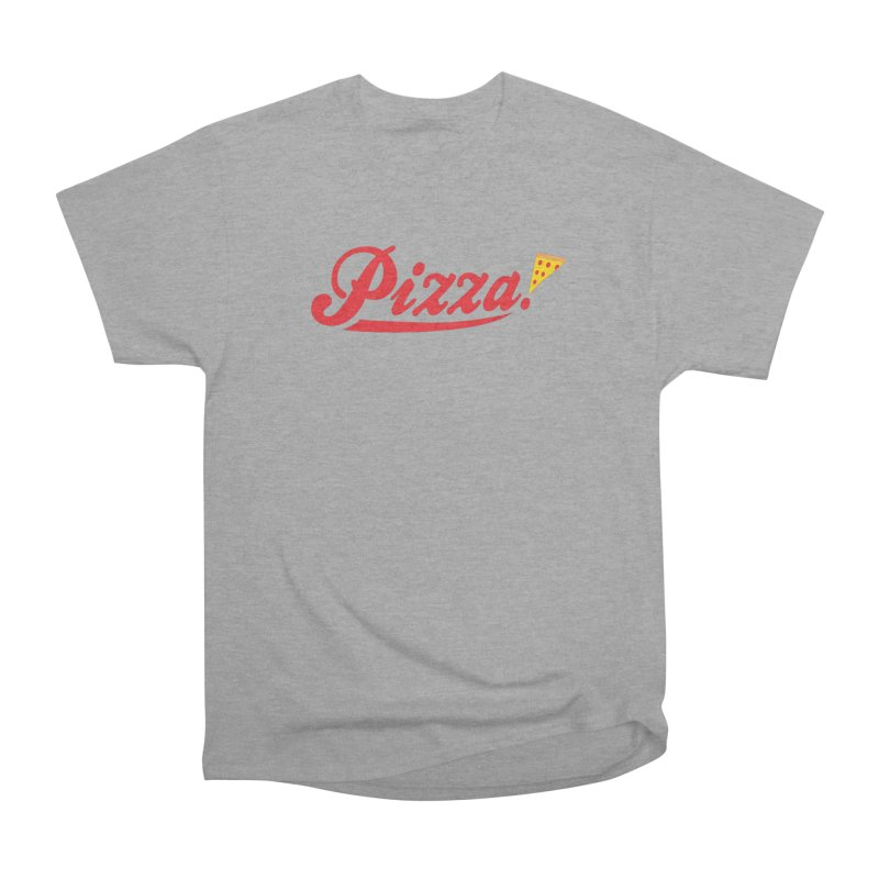 Pizza Men's Heavyweight T-Shirt by DavidBS