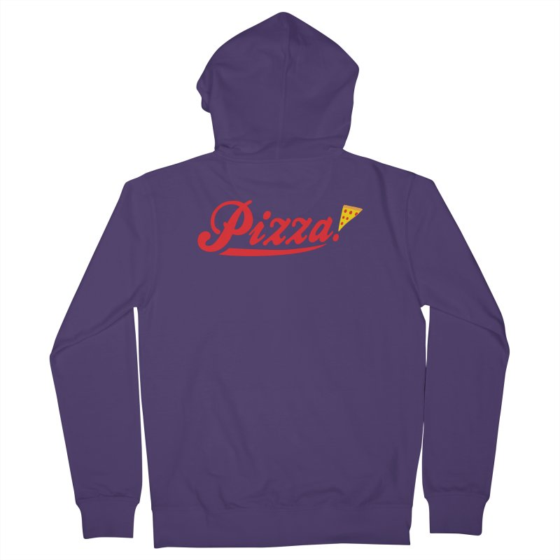 Pizza Women's Zip-Up Hoody by DavidBS