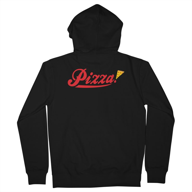 Pizza Women's French Terry Zip-Up Hoody by DavidBS