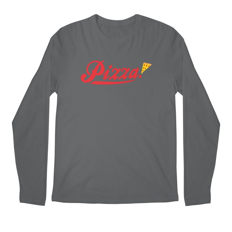 Pizza Men's Longsleeve T-Shirt by DavidBS