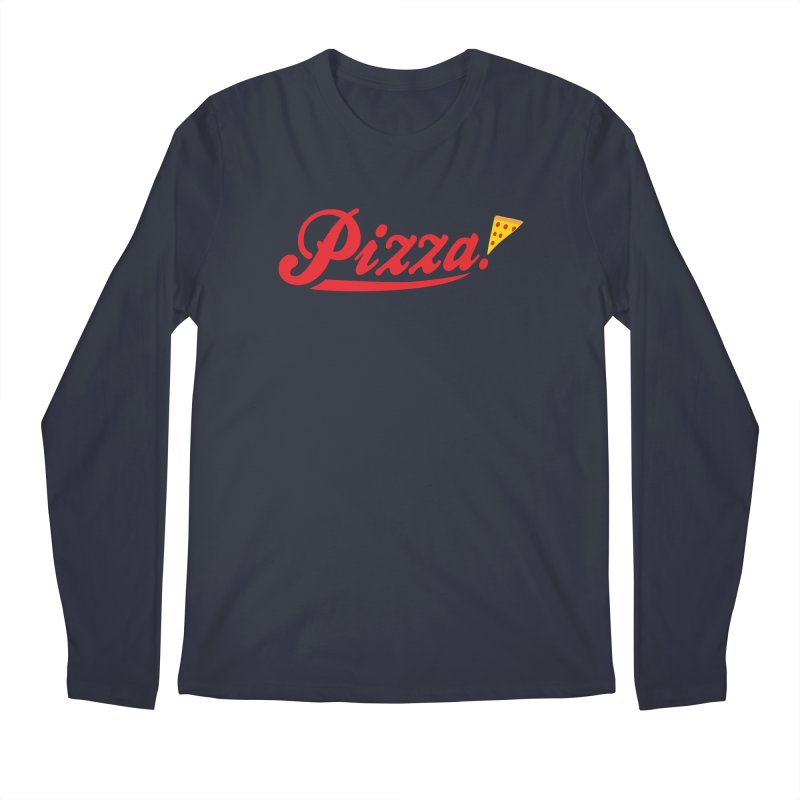 Pizza Men's Regular Longsleeve T-Shirt by DavidBS