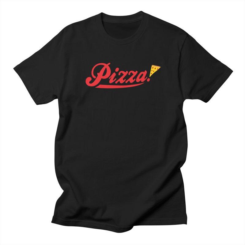 Pizza Women's Unisex T-Shirt by DavidBS