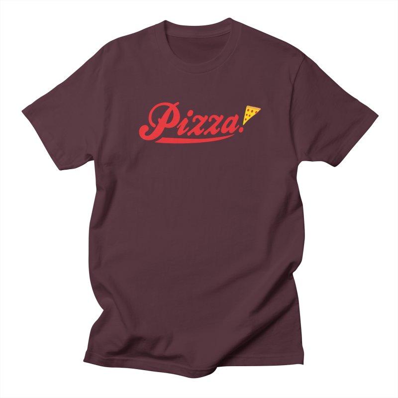 Pizza Women's Regular Unisex T-Shirt by DavidBS