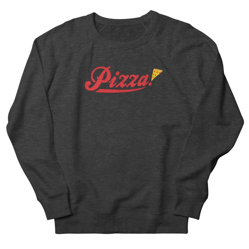 Pizza Men's French Terry Sweatshirt by DavidBS