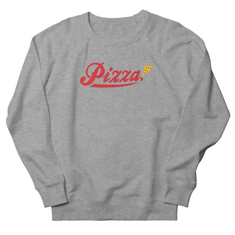 Pizza Men's French Terry Sweatshirt by DavidBS