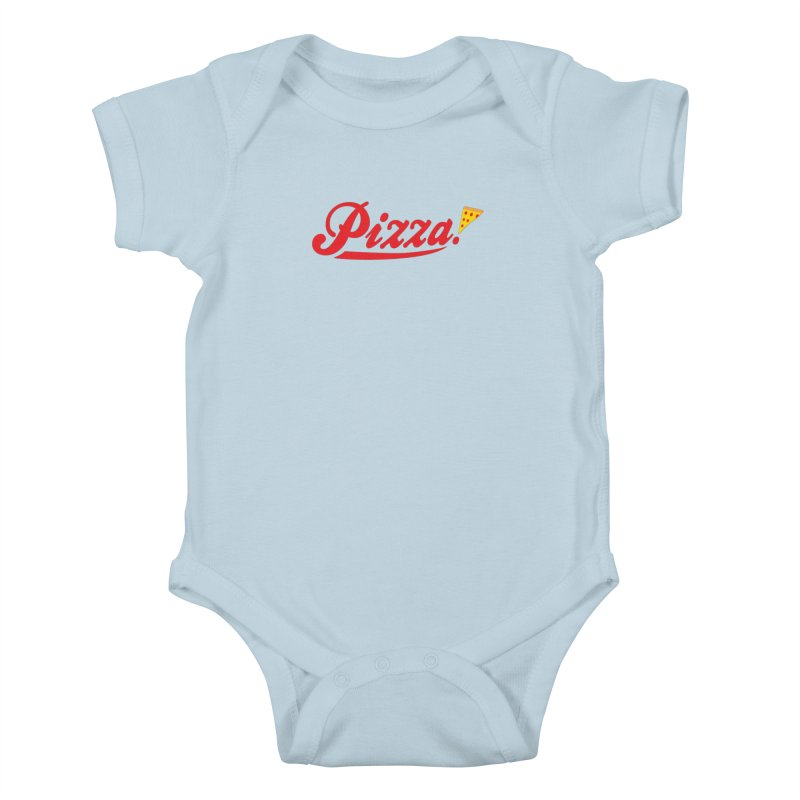 Pizza Kids Baby Bodysuit by DavidBS