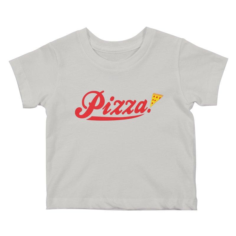 Pizza Kids Baby T-Shirt by DavidBS