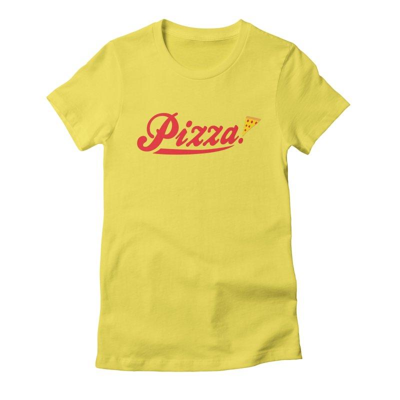 Pizza Women's T-Shirt by DavidBS