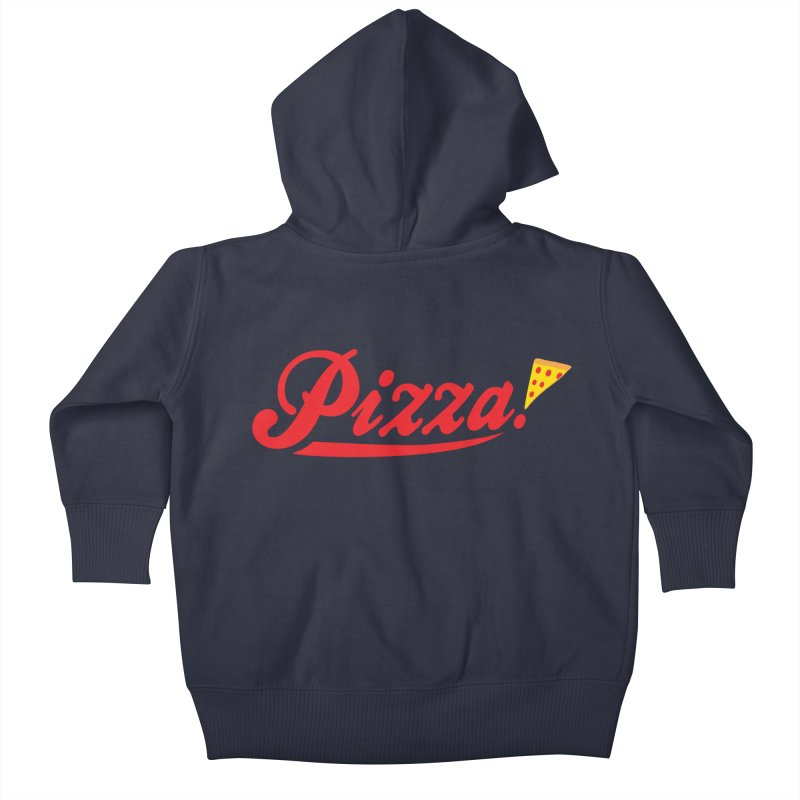 Pizza Kids Baby Zip-Up Hoody by DavidBS
