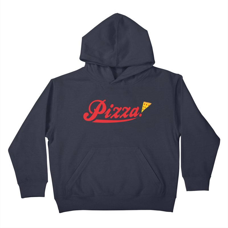 Pizza Kids Pullover Hoody by DavidBS