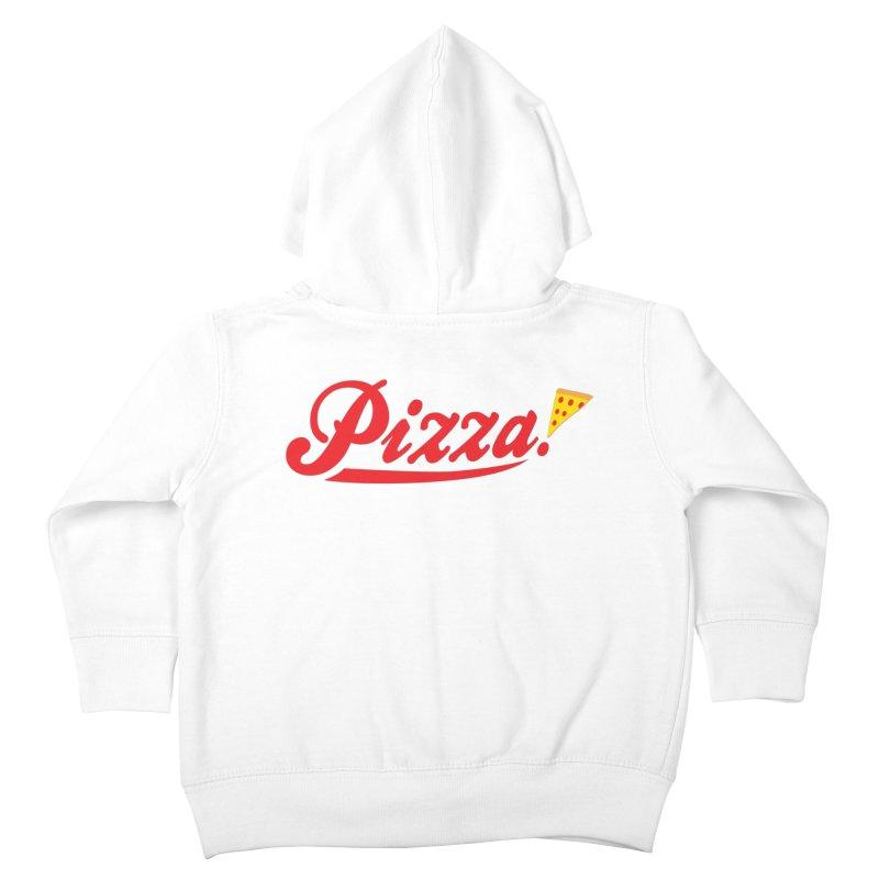 Pizza Kids Toddler Zip-Up Hoody by DavidBS