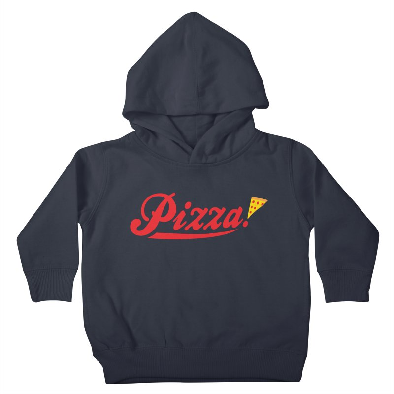 Pizza Kids Toddler Pullover Hoody by DavidBS