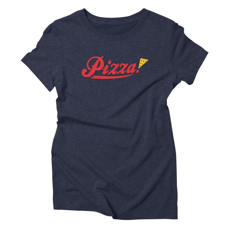 Pizza Women's Triblend T-shirt by DavidBS