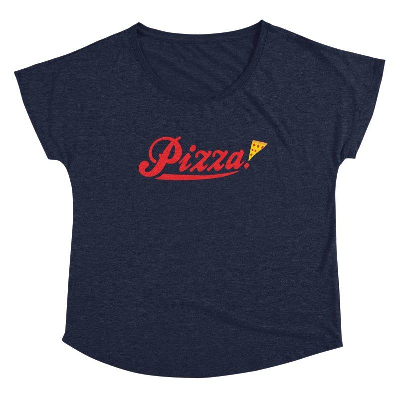 Pizza Women's Scoop Neck by DavidBS
