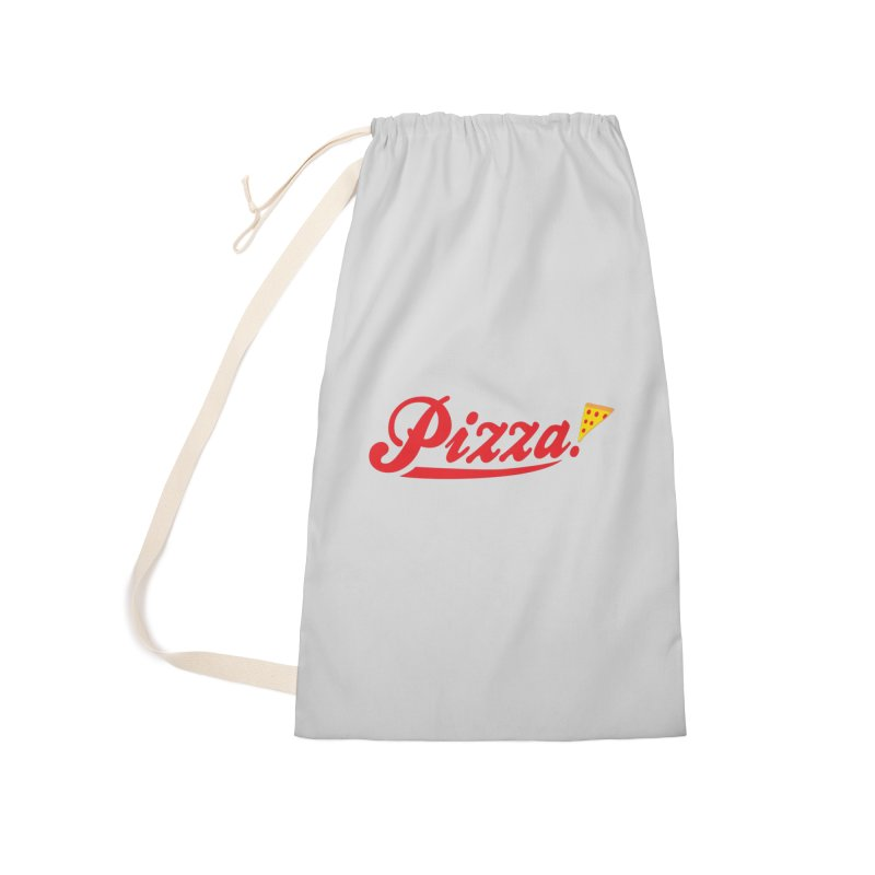 Pizza Accessories Laundry Bag Bag by DavidBS