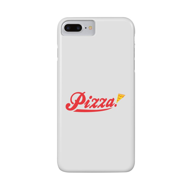 Pizza Accessories Phone Case by DavidBS