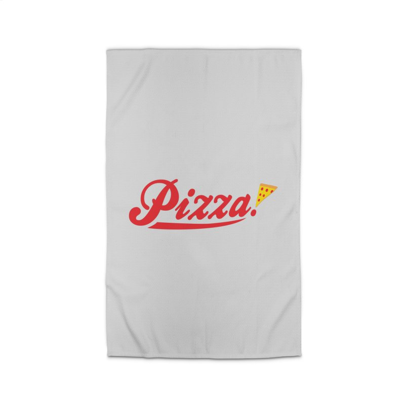 Pizza Home Rug by DavidBS