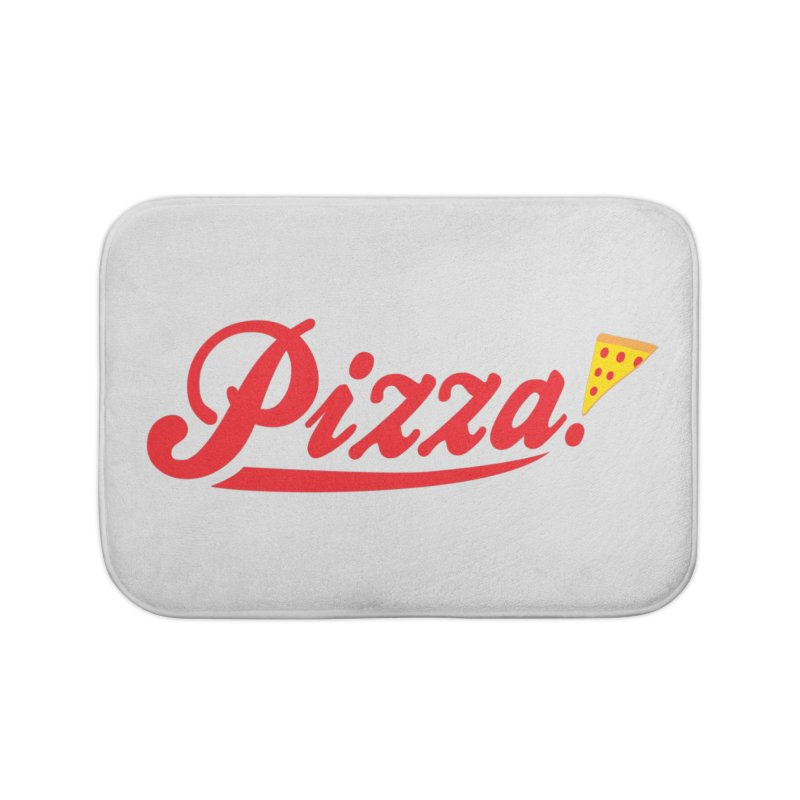 Pizza Home Bath Mat by DavidBS