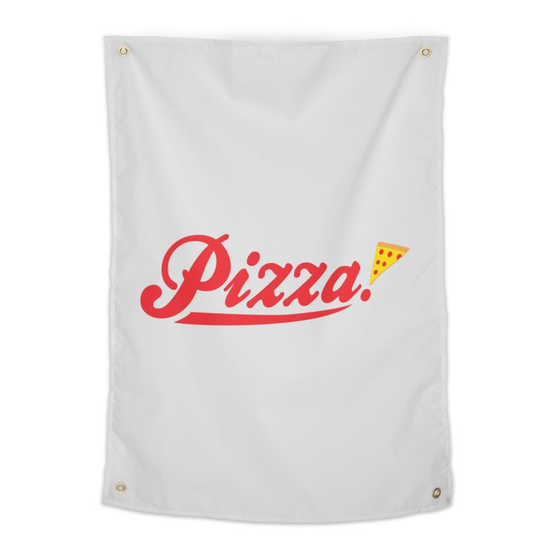 Pizza Home Tapestry by DavidBS