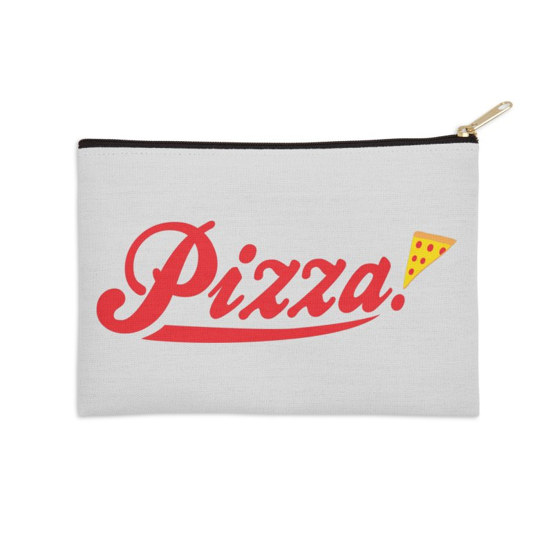Pizza Accessories Zip Pouch by DavidBS