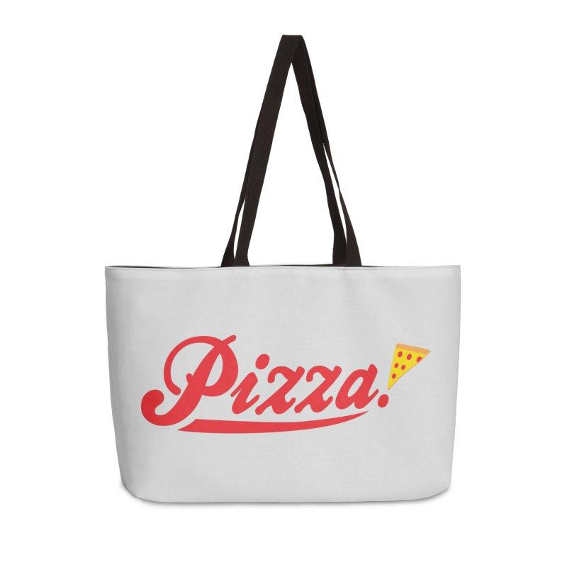 Pizza Accessories Weekender Bag Bag by DavidBS