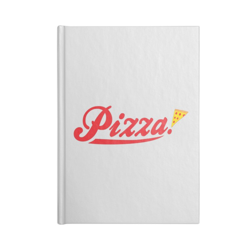 Pizza Accessories Lined Journal Notebook by DavidBS