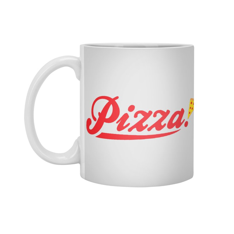 Pizza Accessories Standard Mug by DavidBS