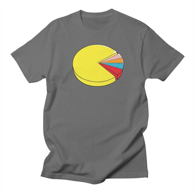 Pacman Pie Chart Women's T-Shirt by DavidBS