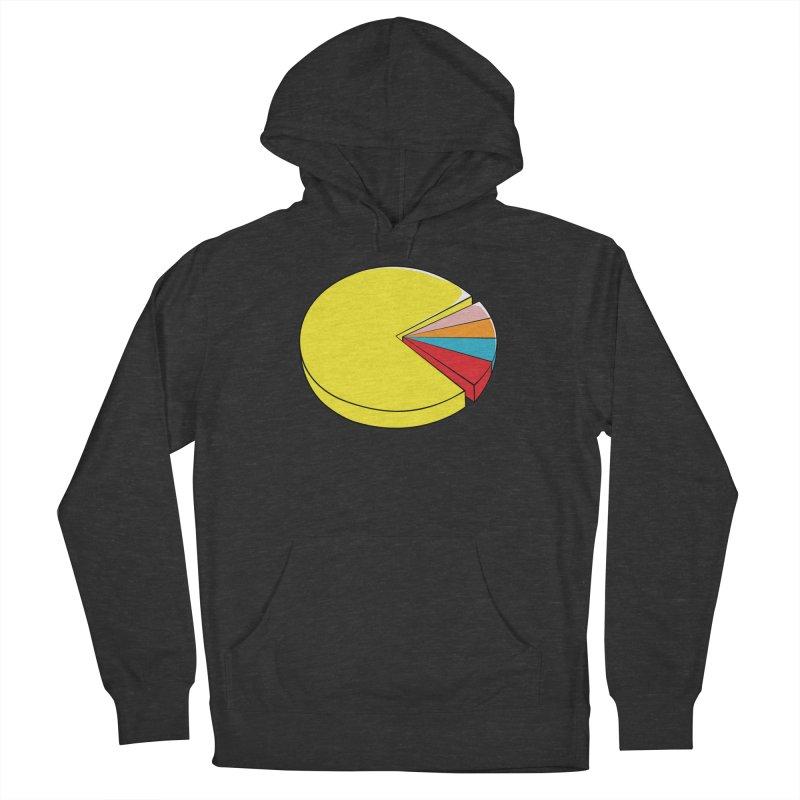 Pacman Pie Chart Women's Pullover Hoody by DavidBS