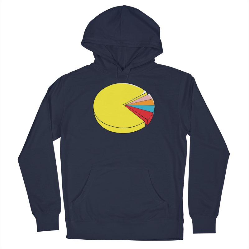 Pacman Pie Chart Women's Pullover Hoody by DavidBS