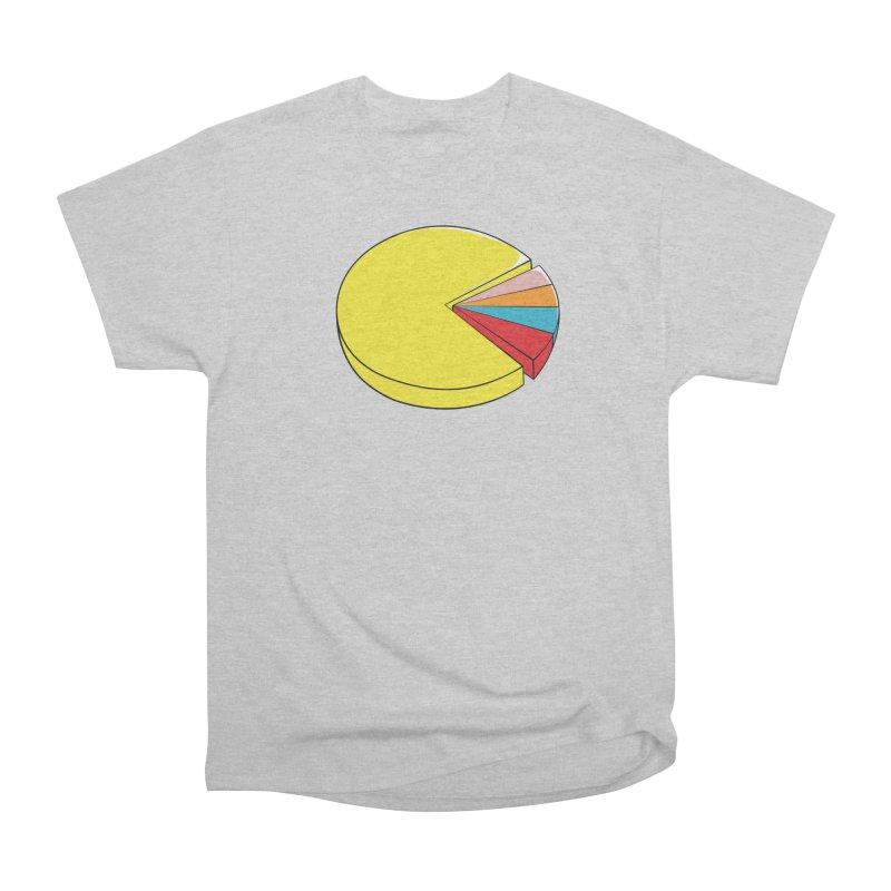 Pacman Pie Chart Men's Classic T-Shirt by DavidBS