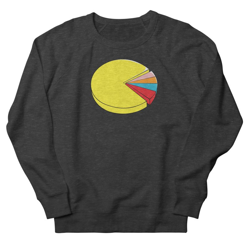 Pacman Pie Chart Women's French Terry Sweatshirt by DavidBS