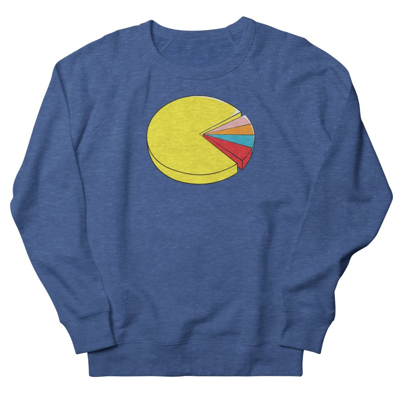 Pacman Pie Chart Women's Sweatshirt by DavidBS