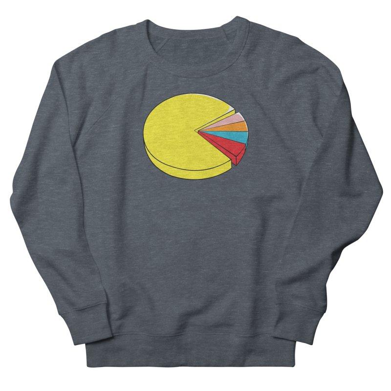 Pacman Pie Chart Men's Sweatshirt by DavidBS