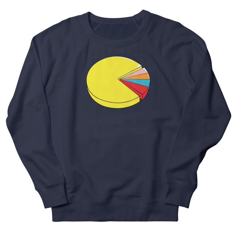 Pacman Pie Chart Men's Sweatshirt by DavidBS