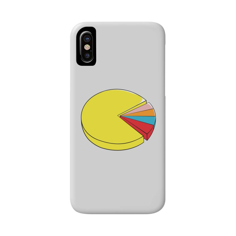 Pacman Pie Chart Accessories Phone Case by DavidBS