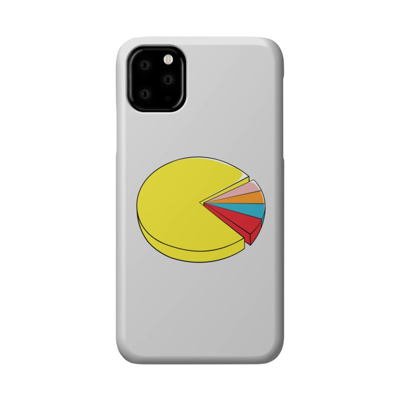 Pacman Pie Chart Accessories Phone Case by DavidBS