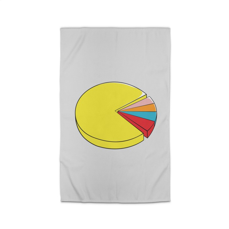 Pacman Pie Chart Home Rug by DavidBS