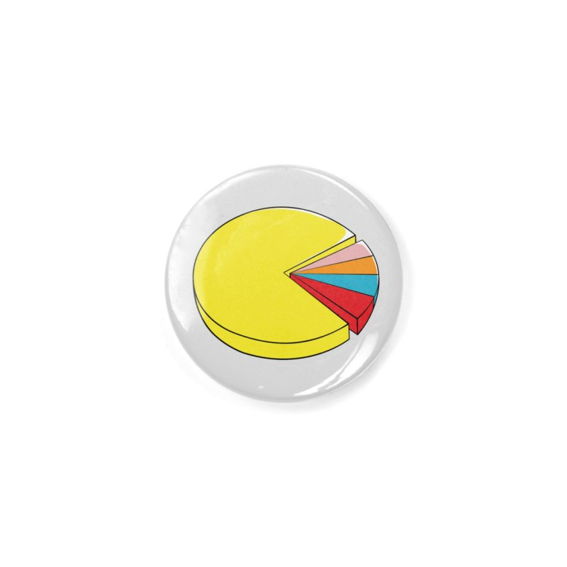 Pacman Pie Chart Accessories Button by DavidBS