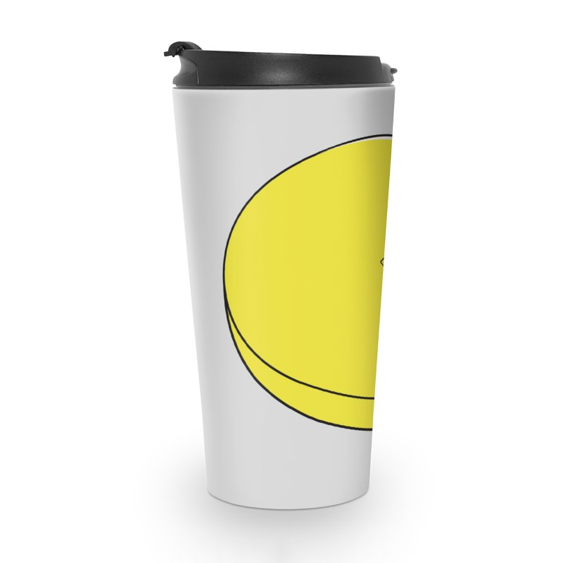 Pacman Pie Chart Accessories Travel Mug by DavidBS
