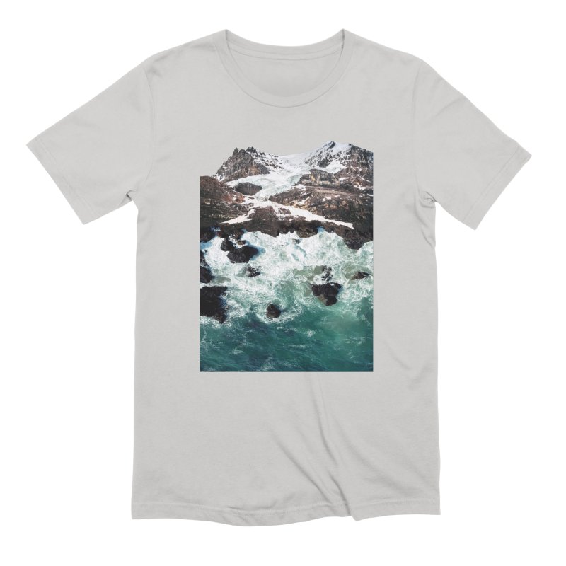 Sea and Mountains Men's Extra Soft T-Shirt by DavidBS