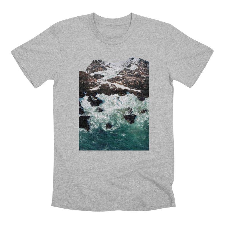 Sea and Mountains Men's Premium T-Shirt by DavidBS