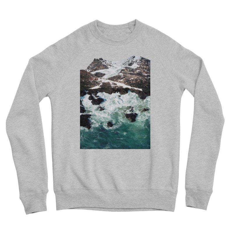 Sea and Mountains Women's Sponge Fleece Sweatshirt by DavidBS
