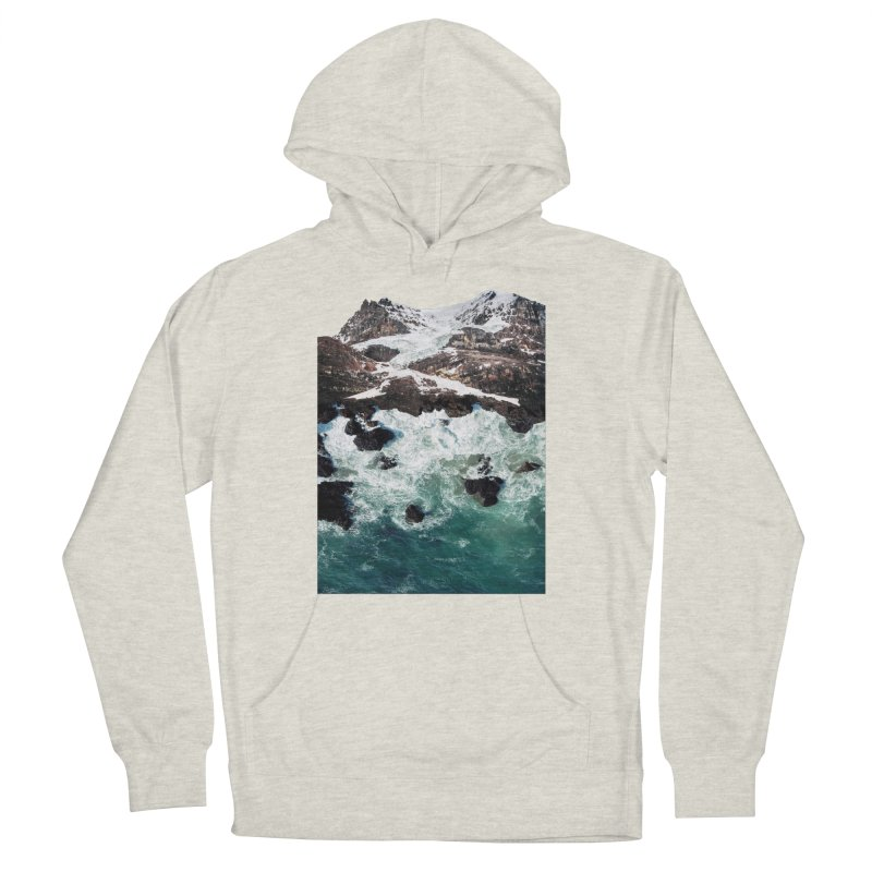 Sea and Mountains Women's French Terry Pullover Hoody by DavidBS