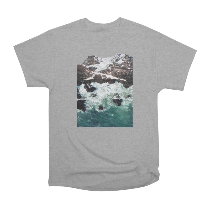 Sea and Mountains Women's Classic Unisex T-Shirt by DavidBS