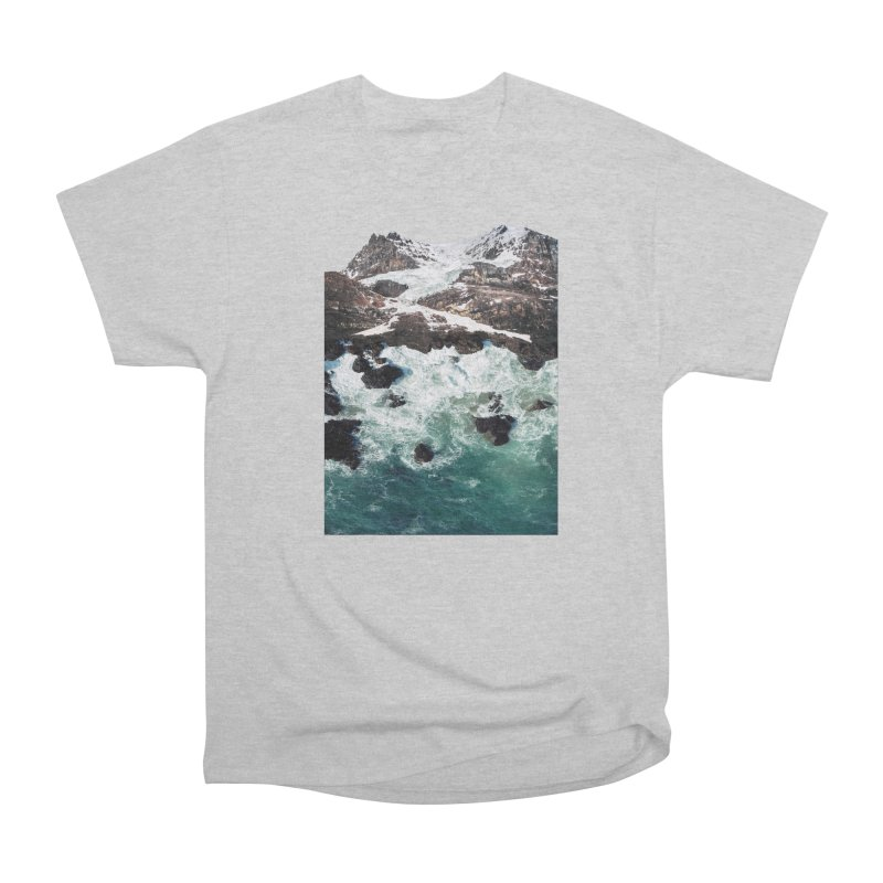 Sea and Mountains Men's Classic T-Shirt by DavidBS