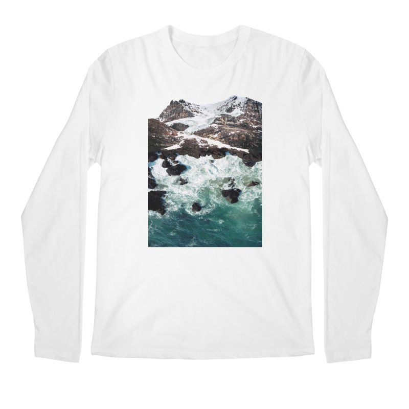 Sea and Mountains Men's Regular Longsleeve T-Shirt by DavidBS